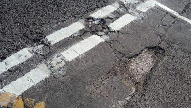 Photo of Residents call for action over road damage and potholes on Carlton Hill