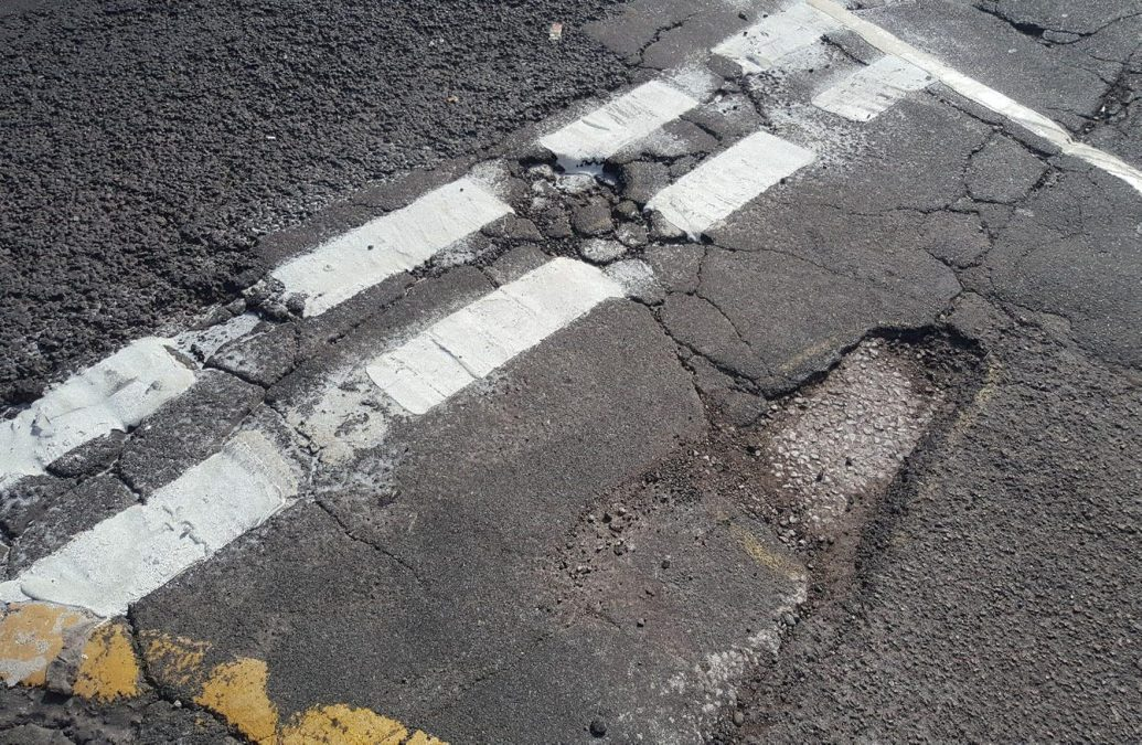 Residents call for action over road damage and potholes on Carlton Hill