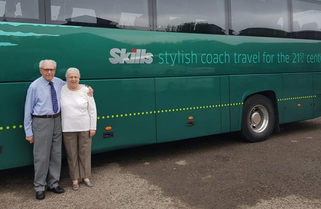 Photo of Just the ticket: Arnold couple who have taken 200 coach trips abroad plan to celebrate diamond wedding anniversary on the road
