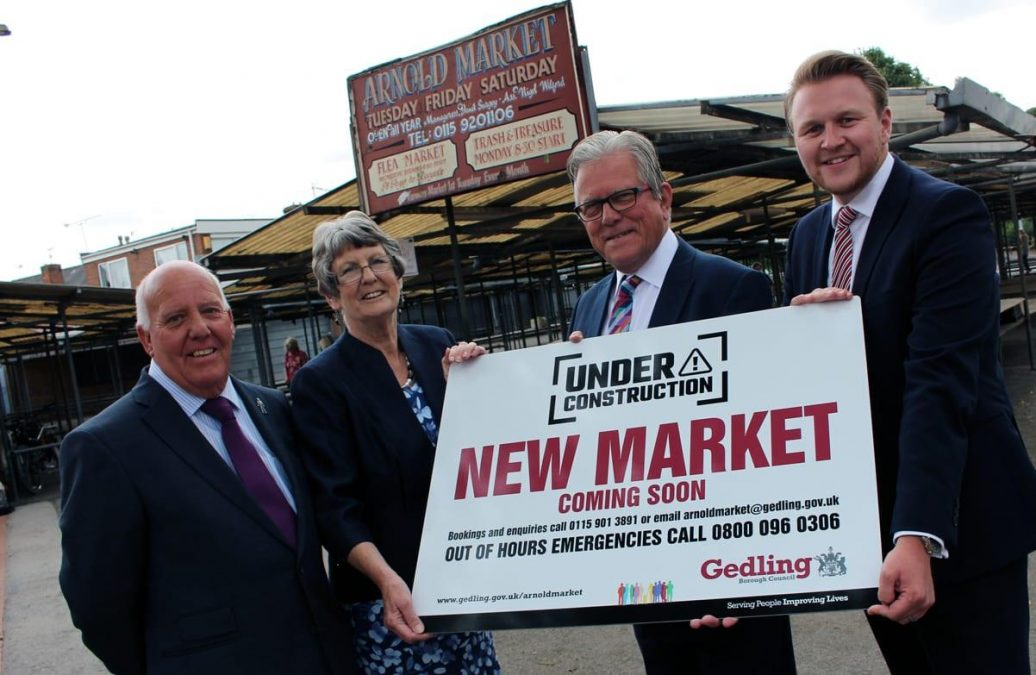Photo of Arnold Market takeover now complete