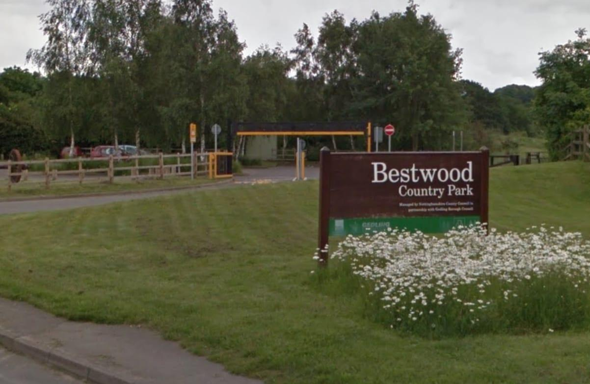 Photo of Firefighters battle blaze at Bestwood Country Park