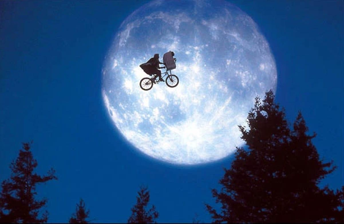 Photo of Enjoy ET screening during lunar eclipse at outdoor cinema in Colwick Park