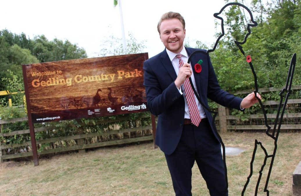 Tommy tribute unveiled at Gedling Country Park