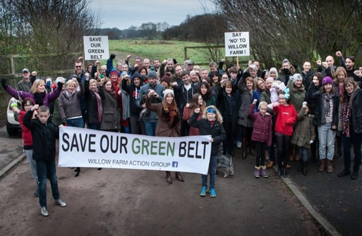 Protest group in Gedling 'deeply disappointed' local green belt land could now be lost to housing