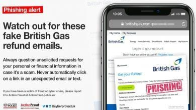 Photo of British Gas customers in Gedling borough warned about fake emails that could steal personal details