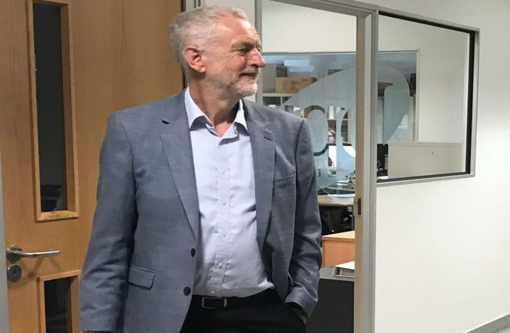 Corbyn slams 'super council' plans during visit to Notts