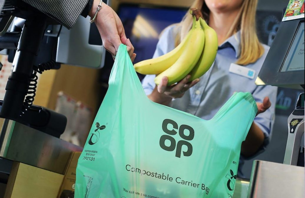 Co-op to replace plastic bags at borough stores with ones you can compost