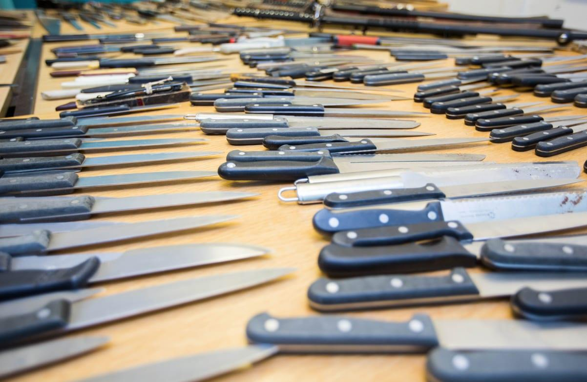 A week-long knife amnesty starts today across Gedling borough