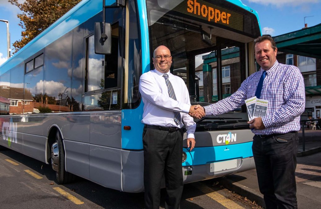 New bus services will help shoppers in borough villages isolated by public transport cuts