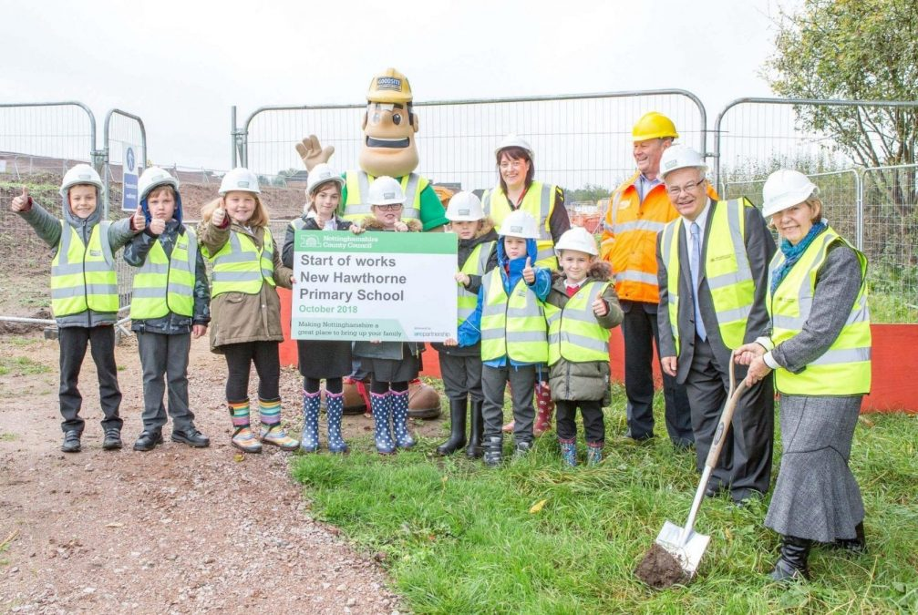 Work begins on new primary school in Bestwood Village