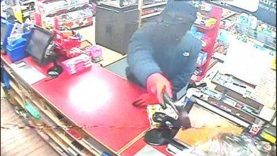 Photo of CCTV images released of offenders wanted after robbery at Mapperley convenience store