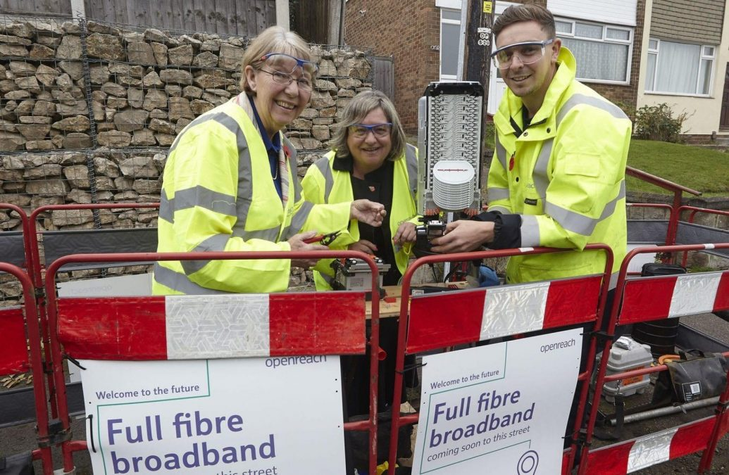 Broadband boost for homes and businesses in Gedling borough