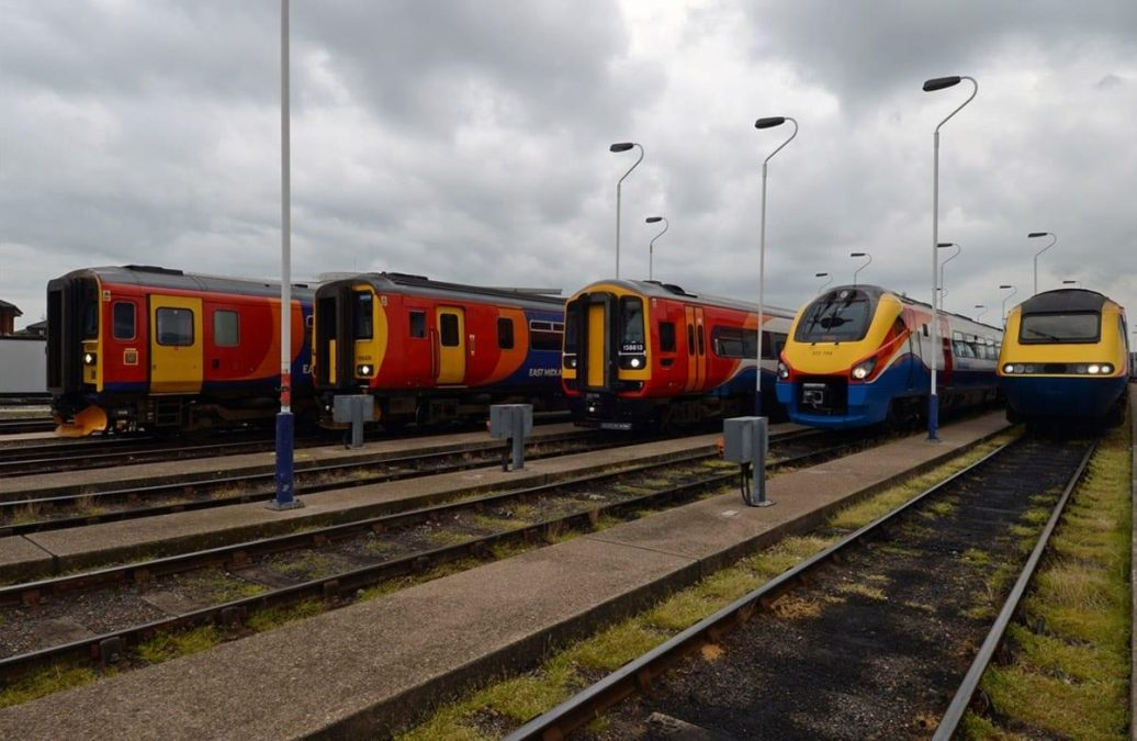 Short-term franchise extension for East Midlands Trains