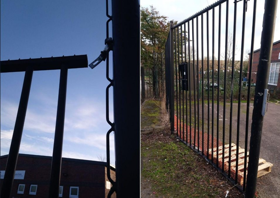 Gedling charity appeals for information after gates and fences are damaged by vehicle