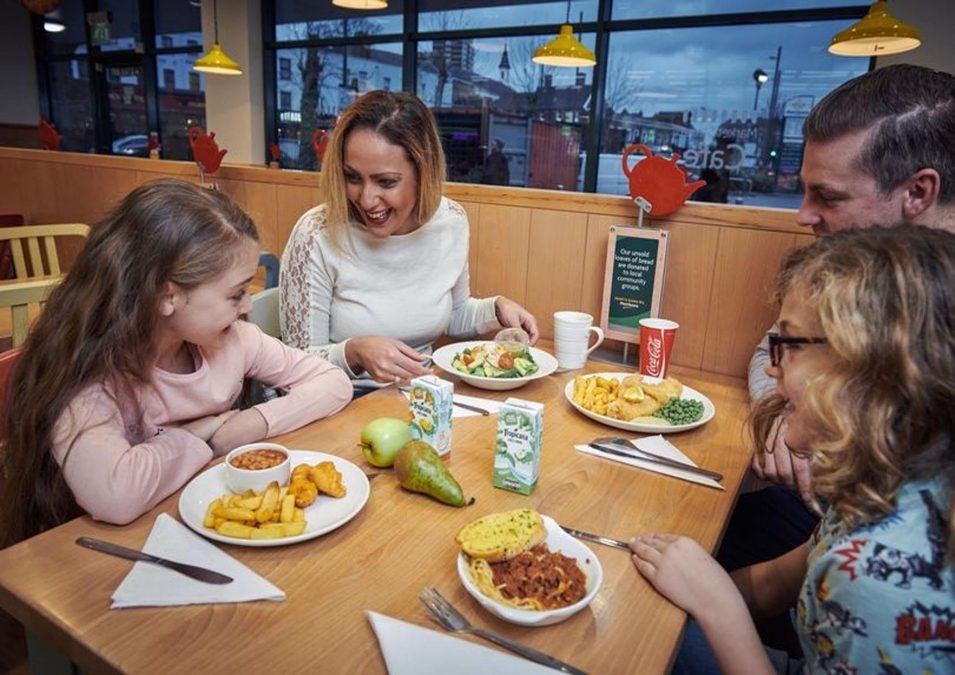 Family of four can eat for just £10 with café deal at Netherfield supermarket