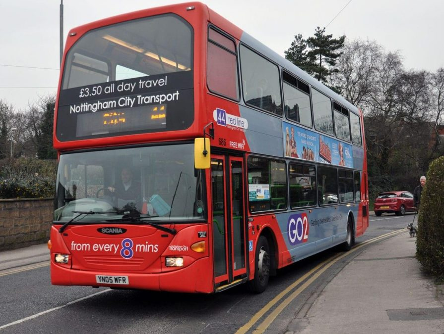 Red-44-bus-Gedling