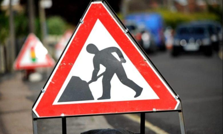 Roadworks-Gedling