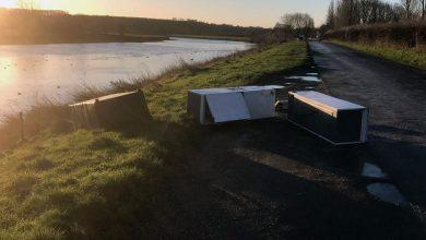 Photo of Brazen fly-tippers ditch fridge freezers and sofa at beauty spot in Stoke Bardolph