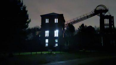 Photo of Spooky: Check out this shot of the eerie Winding Engine House in Bestwood at night