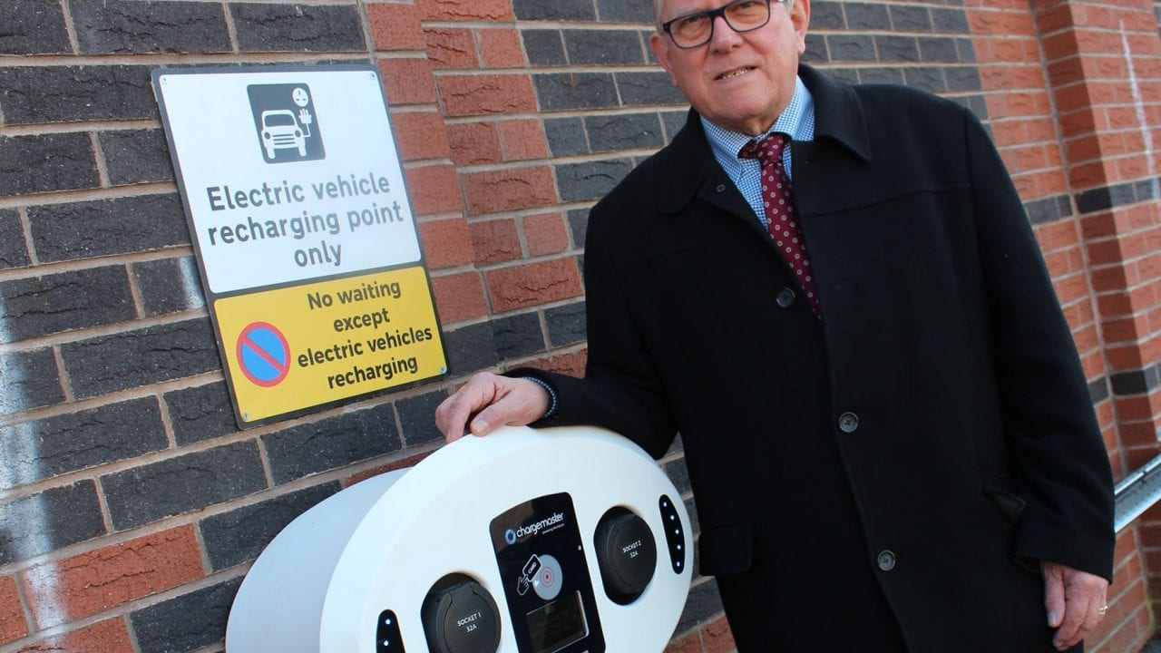 Electric vehicle charging points installed in Netherfield and Carlton