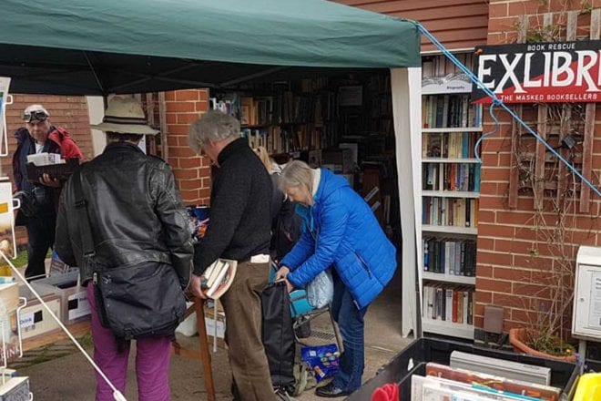 Bonanza book sale in Gedling with over 15,000 titles on offer will raise vital funds for good causes
