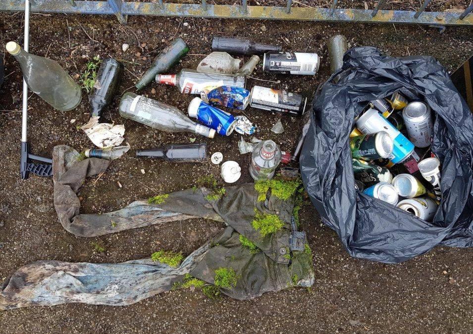 'These items should be nowhere near a play area': Resident disgusted by rubbish he found in Woodthorpe park