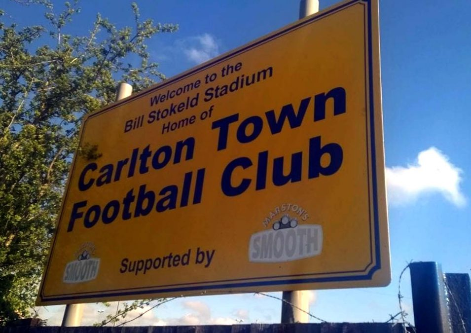 MARCH REPORT: Bingham Town 1-2 Carlton Town