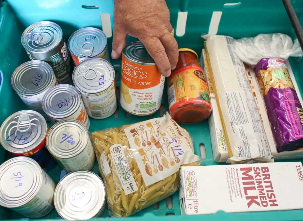 Increasing Demand Depletes Supplies At Netherfield Food Bank