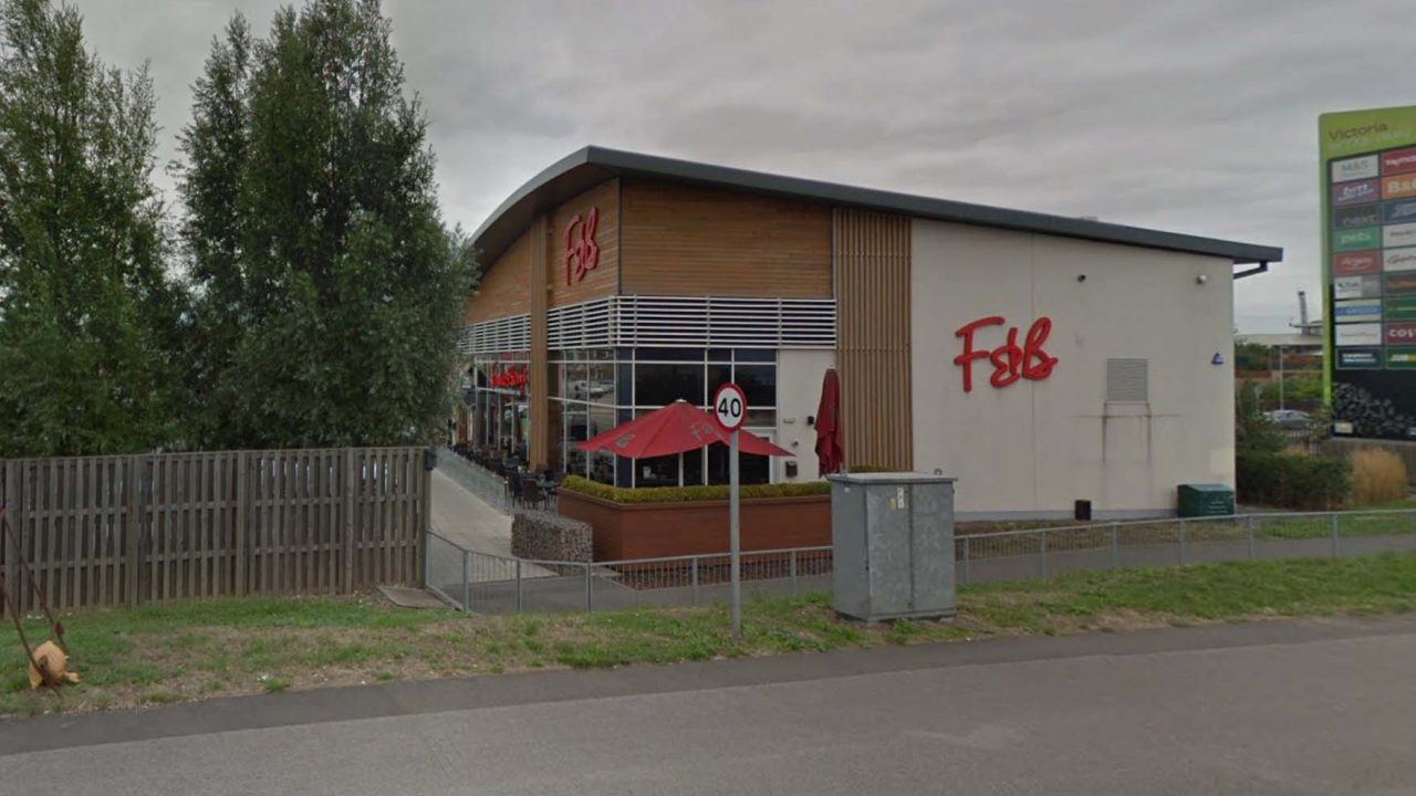 Frankie & Bennys restaurant at Netherfield could be up for sale