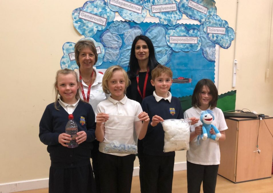 Pupil secures eco cash-boost for Carlton school after winning national design competition