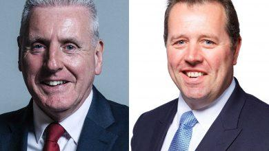 Photo of MPs Vernon Coaker and Mark Spencer react to news of extra police funding to tackle knife crime