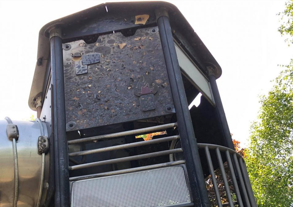 Two teenagers arrested in connection with arson attack on play equipment which was 'damaged beyond repair' in Arnot Hill Park
