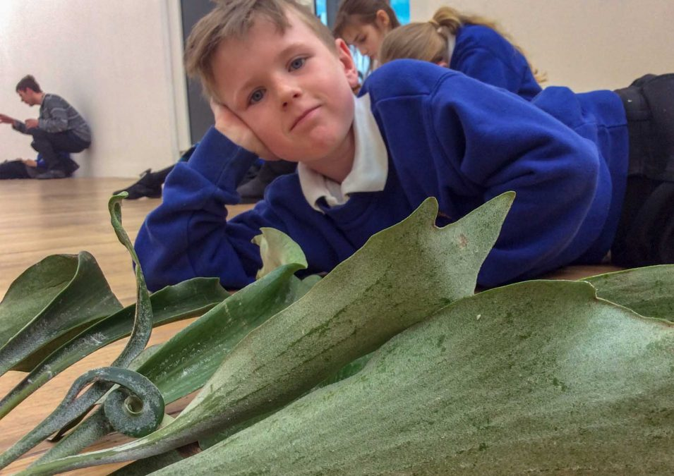 Art gallery visit leaves lasting impression on pupils from Arnold school