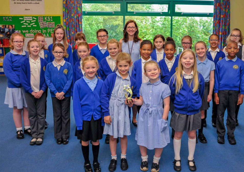 Burntstump primary school choir in fine tune to win competition