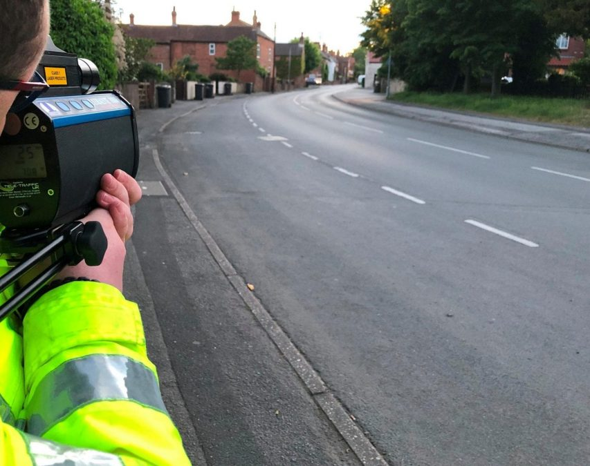 Police step up speed checks in Calverton and Ravenshead