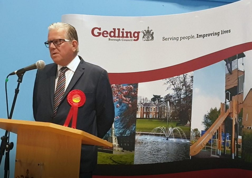 Gedling leader part of united opposition against Notts super council plan