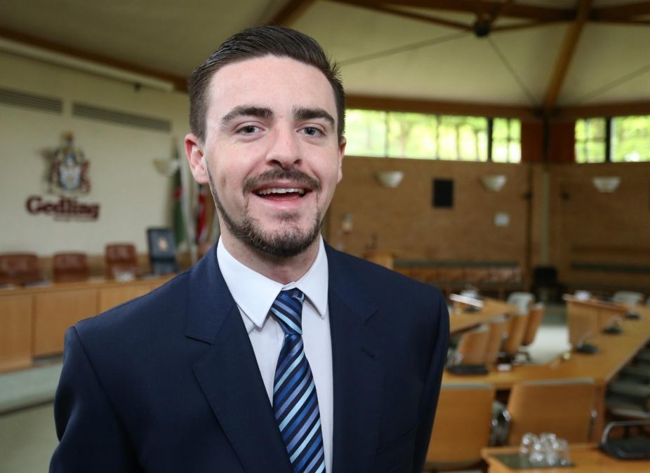 Meet the UK's youngest Conservative chairman in the country – and he serves the people of Gedling borough