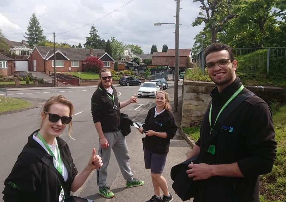 Daybrook and Redhill residents get doorstep advice on greener travel choices available in the area