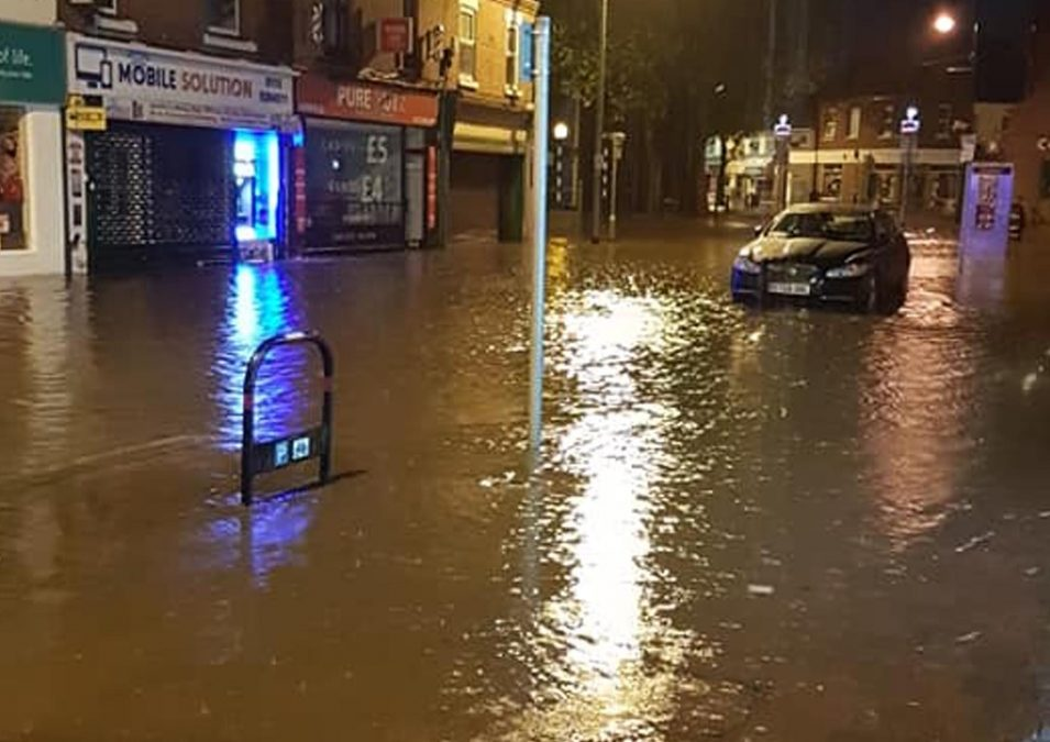 Arnold floods: Gedling Borough Council to help clear up damaged properties