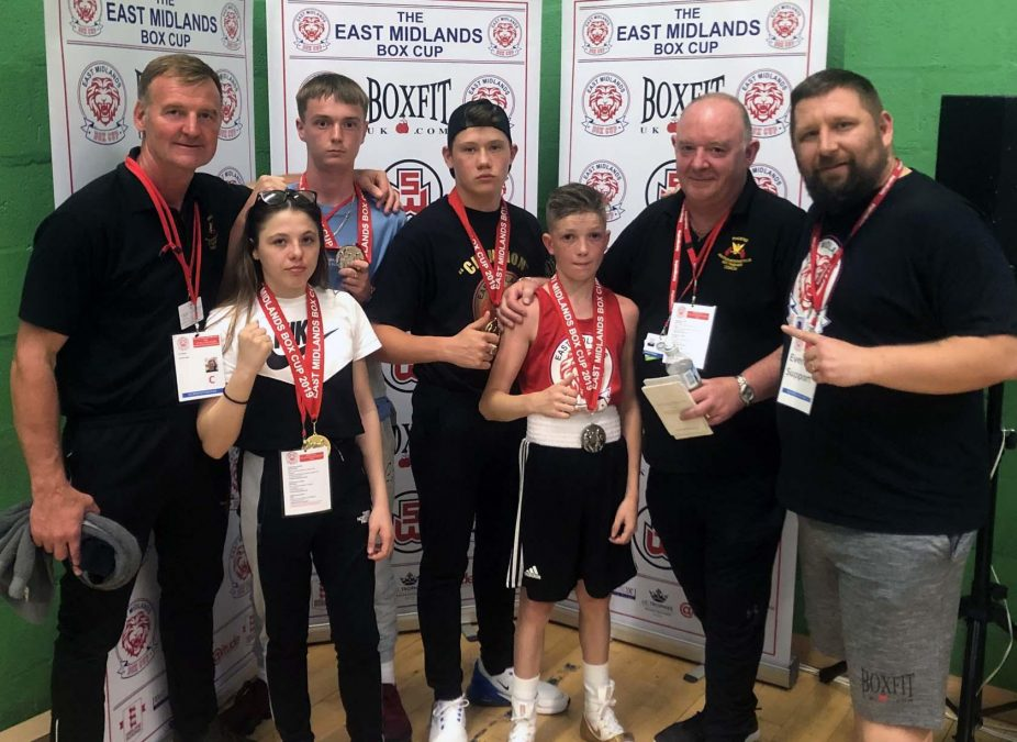 Fine medal haul for young boxers with Carlton-based club after success at Box Cup competition