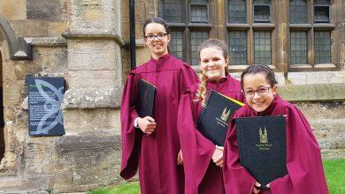 Photo of These Gedling girls have become Southwell Minster's youngest ever female choir singers