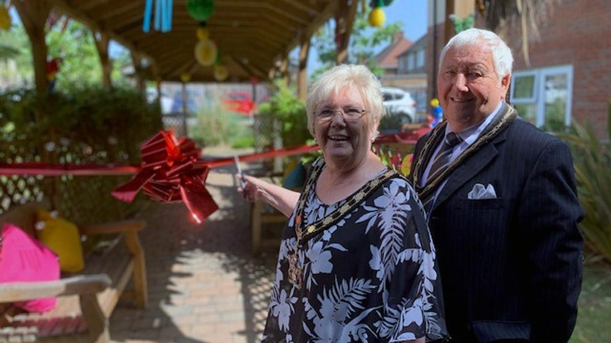 Mayor of Gedling invited to open new sensory garden at care home in Arnold