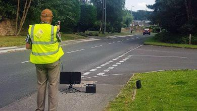 Photo of Police equip volunteers with speed guns during clampdown on dangerous driving in Ravenshead
