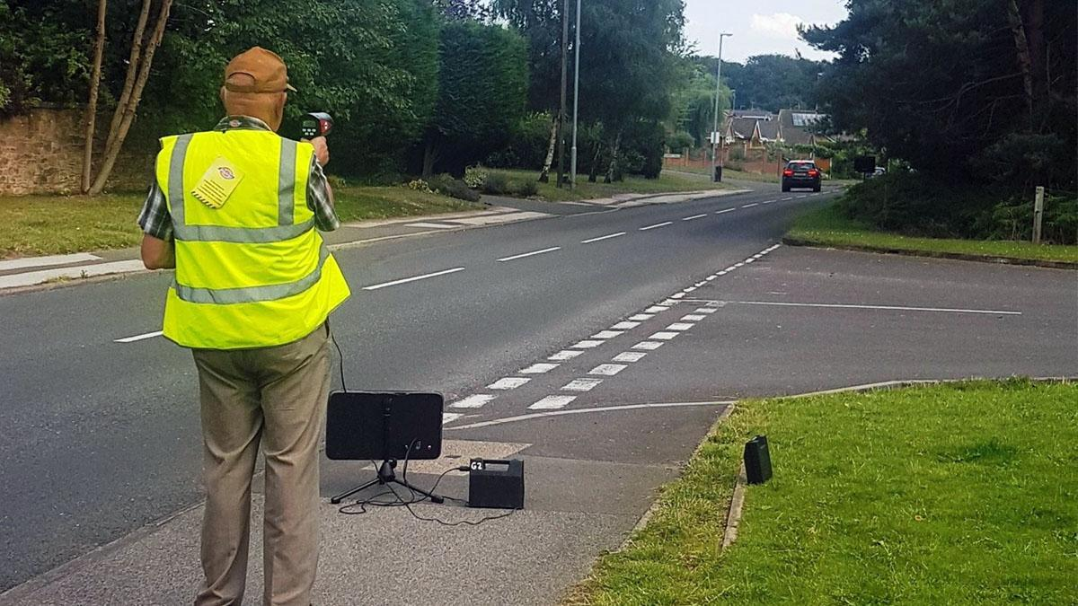 Police equip volunteers with speed guns during clampdown on dangerous driving in Ravenshead