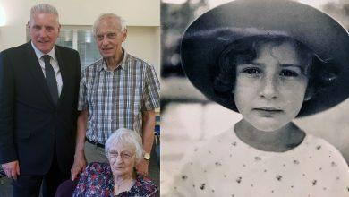 Photo of The eight-year-old who travelled across Europe alone to escape the Nazis: MP Vernon Coaker honours Eve who started new life in Netherfield 80 years ago