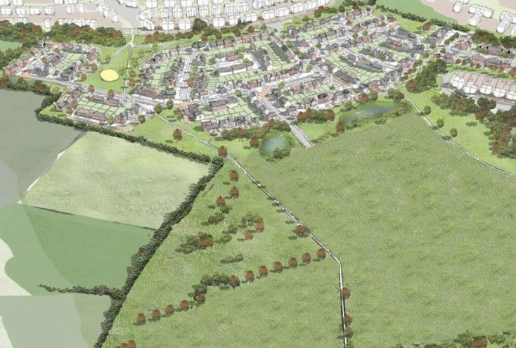 Hundreds of new homes to be built in Calverton