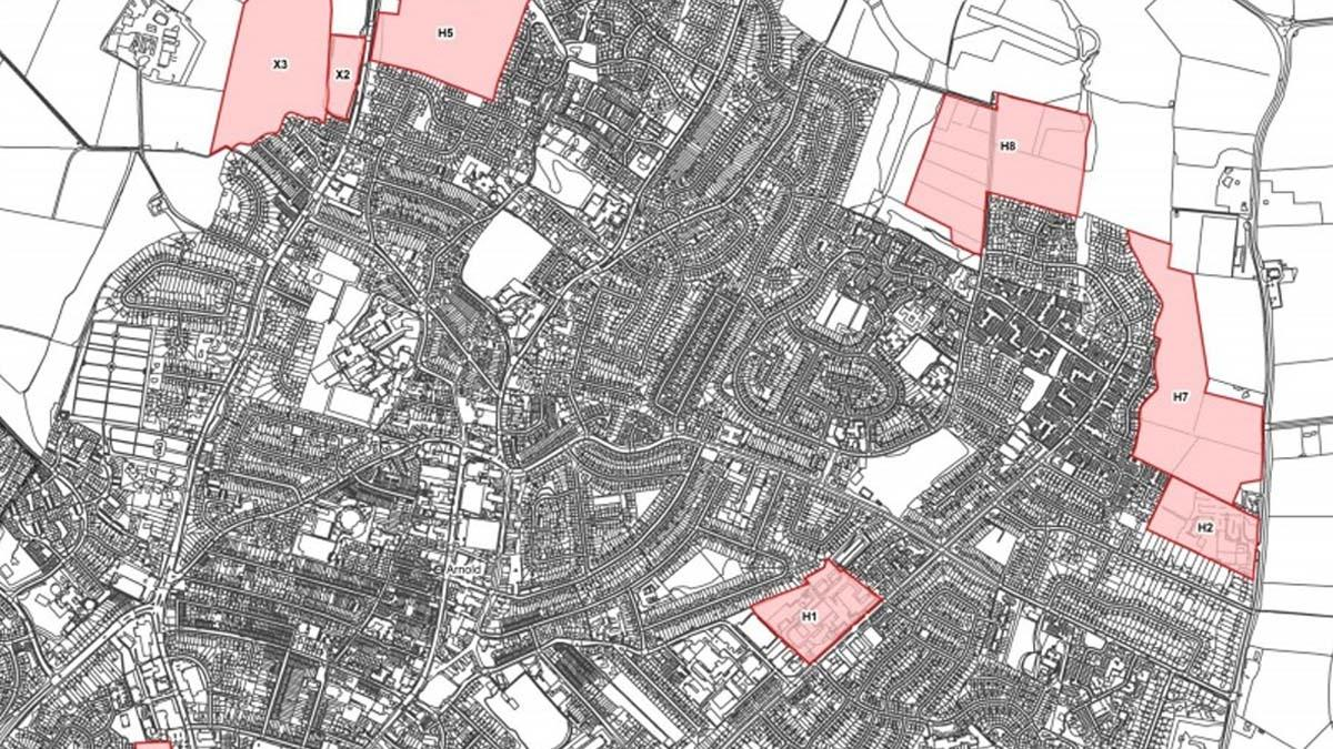 The changing face of Gedling: All the new developments that will change our borough