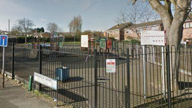 Photo of Play park in Carlton now closed after being repeatedly attacked by vandals