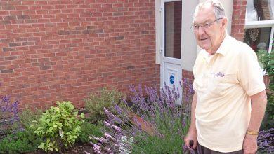 Photo of Arnold care home in bloom after scooping regional gardening award