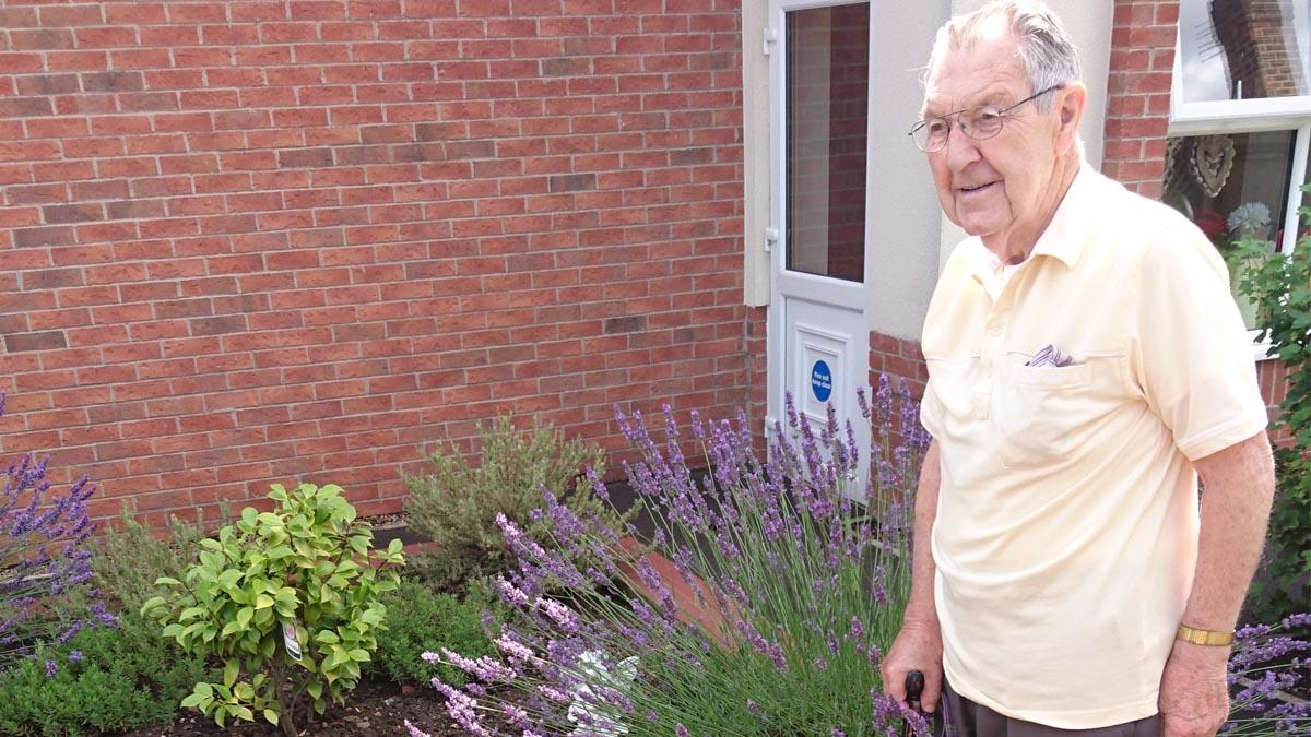 Arnold care home in bloom after scooping regional gardening award
